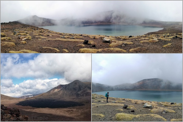 Tongariro Alpine crossing, blue lake
