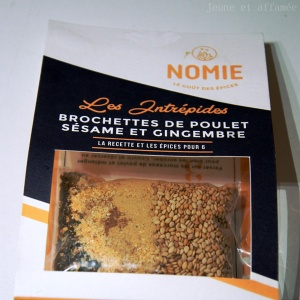 Epices Nomie : les intrépides