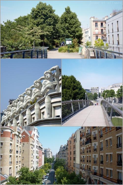 Vers Bastille, vue sur les immeubles alentour