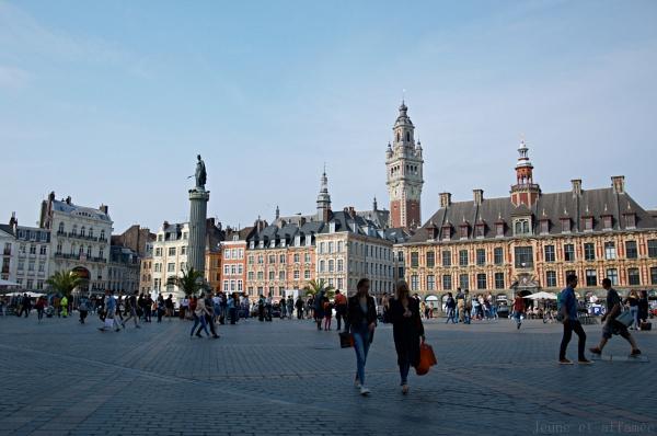 La grand place de Lille
