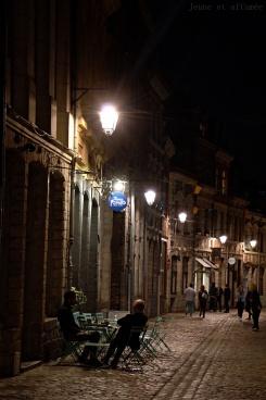 Rues de Lille de nuit