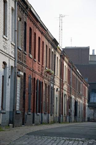 Cité ouvrière à Roubaix