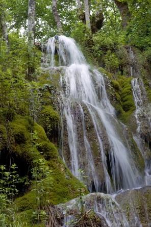 Cascade pétrifiante de Roquefort, Ariège