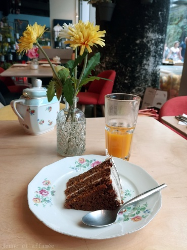 Le dessert du brunch au Sept Cinq Paris