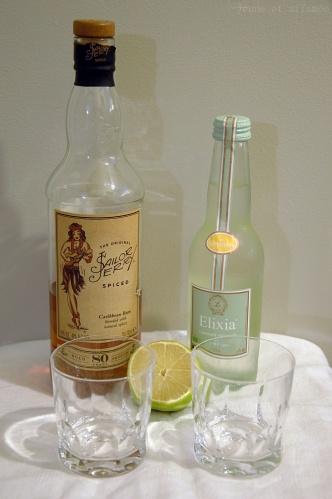 Rhum et limonade