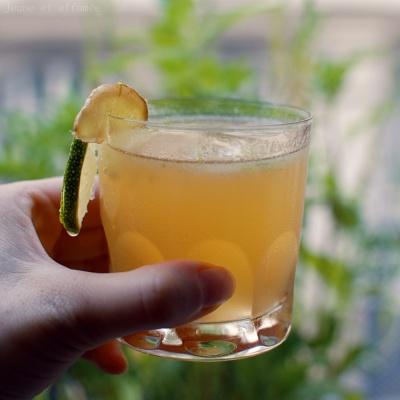 Rhum gingembre citron