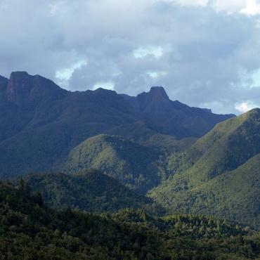 Vue sur la montagne, Coromandel
