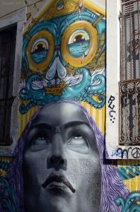 Supo caos & Isaac & Depose, street art Sète