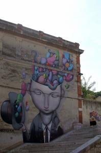Julien SETH Malland, monsieur Tielle, street-art Sète