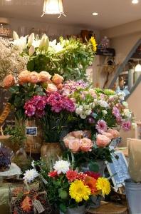Fleuriste halles Sète