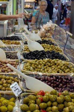 Olives aux Halles de Sète