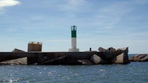 Sortie du port de Sète