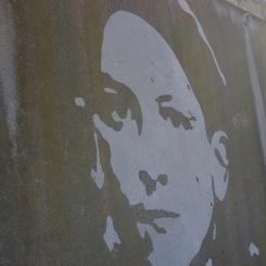 Portraits de Sétois par Klaus Dauven, street-art Sète