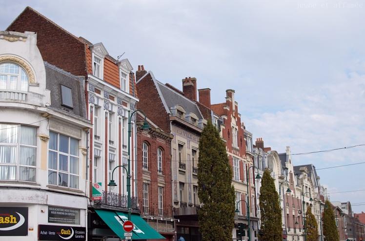 La rue principale de Lens