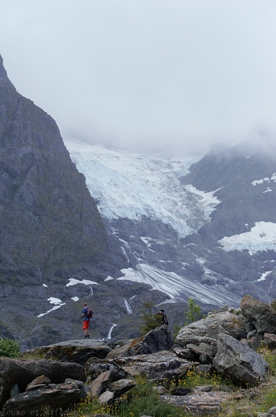Rob Roy glacier NZ