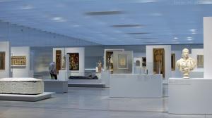 Louvre-Lens : un espace ouvert et lumineux