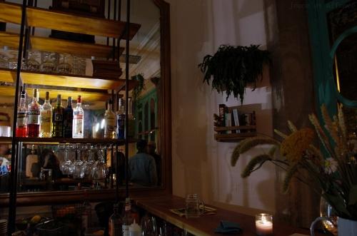 Le bar du Floréal Belleville