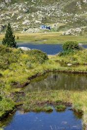 Refuge et étangs de Bassiès