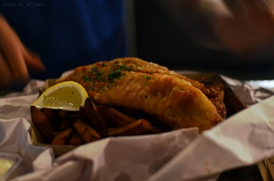 Fish and chips de kumara, Auckland