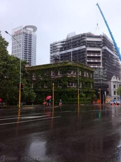 Auckland sous la pluie