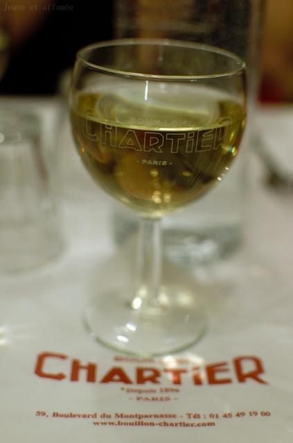 Verre de vin, Chartier