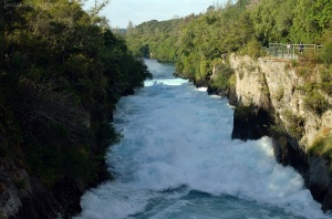 Huka Falls, Taupo, Nouvelle Zélande