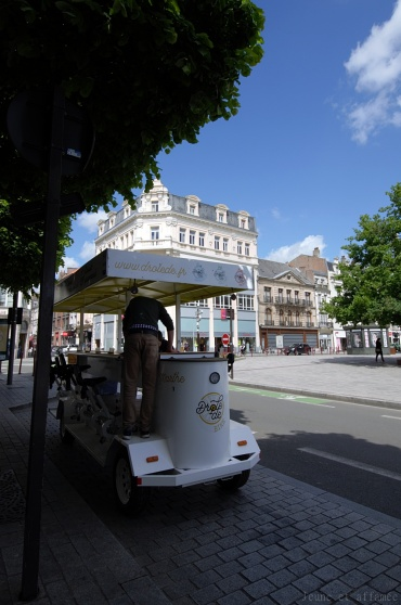 Apéro-visite en drôle de bike, Douai