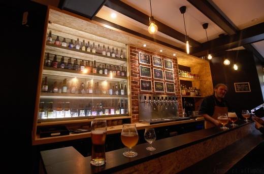 La Baragouin, bar à bières, Douai