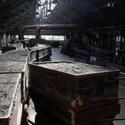 Wagonnets de charbon