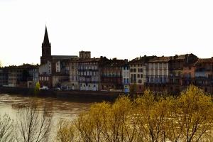 Montauban, traversée par le Tarn