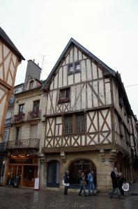 Maisons anciennes à Dijon