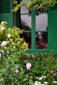 Fenêtre de la maison de Claude Monet