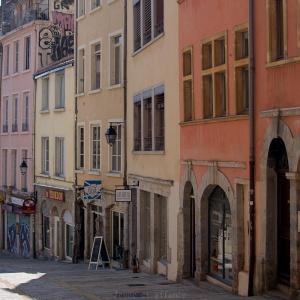 Façades colorées, Lyon