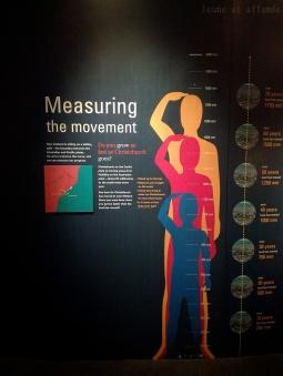 Panneaux explicatifs, musée Te Papa