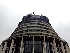 Le parlement néo-zélandais à Wellington