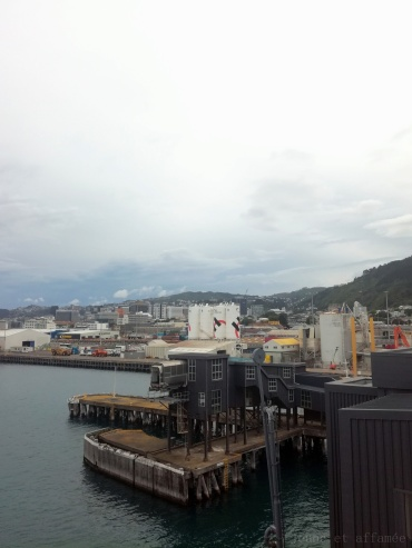 Le port de commerce de Wellington