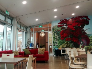 Le café de Zealandia, Wellington