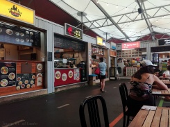 Capital market, food court, Wellington