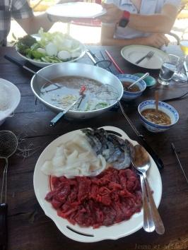 Le camion de ma Pham, fondue vietnamienne