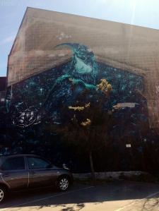 Street art à Christchurch