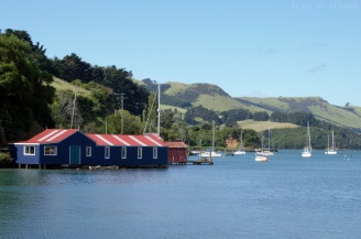 Port-Chalmers, mer et collines