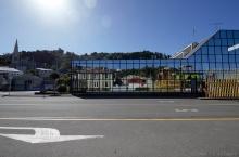Entrée du port de commerce de Port Chalmers, Otago, Nouvelle-Zélande
