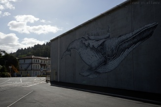 Fresque, Port CHalmers, Nouvelle Zélande