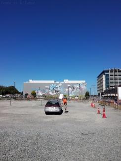 Ruines et terrains vagues à Christchurch