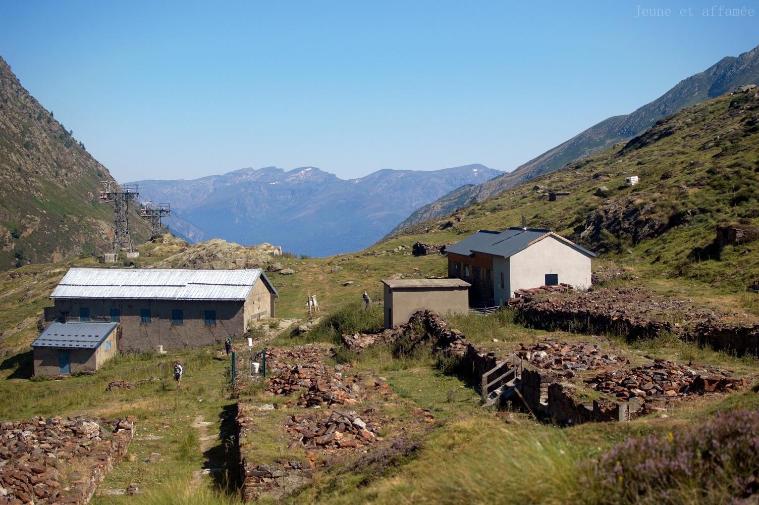 Barraques du site EDF de l'étang d'Izourt