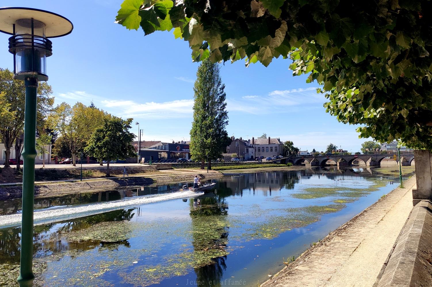 Canal du Berry à Vierzon