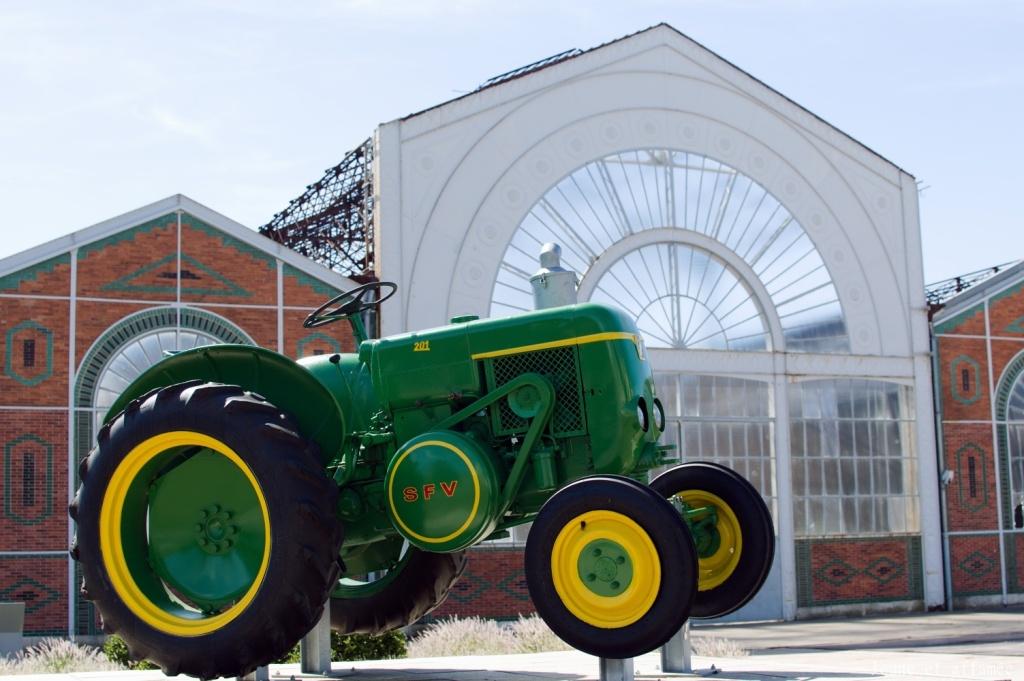 Vierzon était réputée pour ses machines agricoles