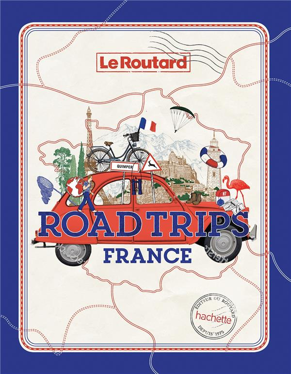 Road trips France, Le Routard