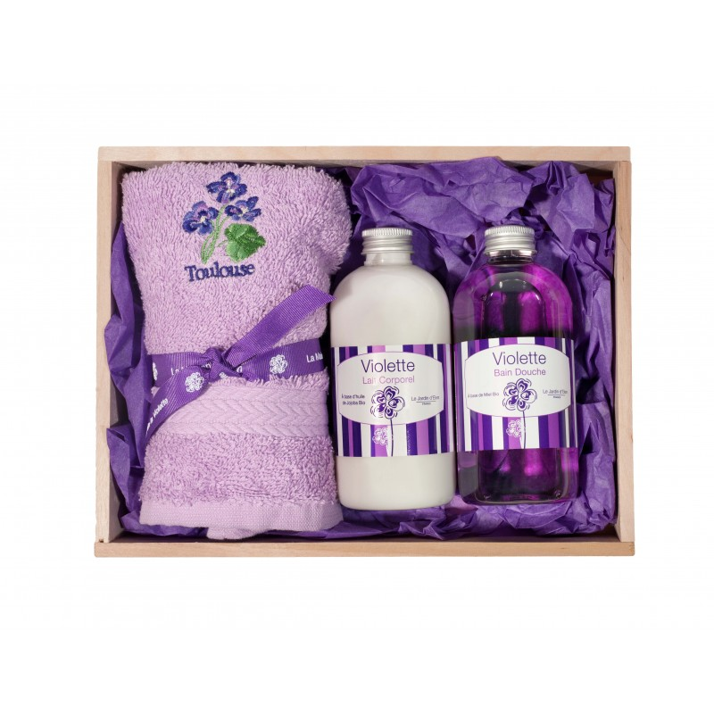 Coffret Instant beauté La maison de la violette